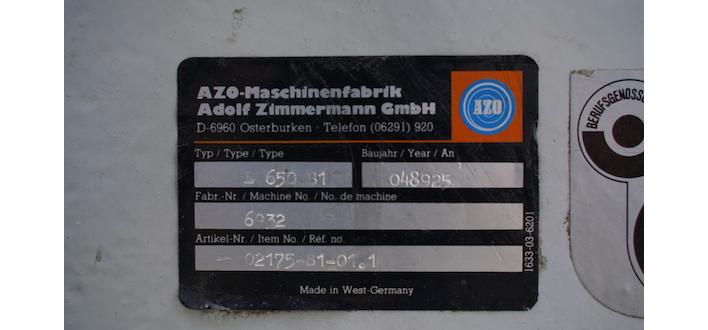 Afbeelding 4 - Azo roterende zeef | E650 - 6933