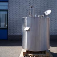Rvs opslagtank (TJ004)