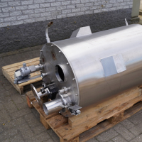 Rvs opslagtank (3I4R)