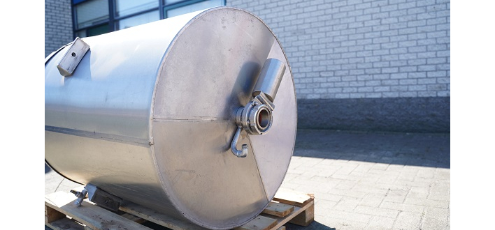 Afbeelding 2 - Rvs opslagtank (TJ1022-1B)