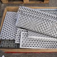 Diverse traptreden rvs/staal